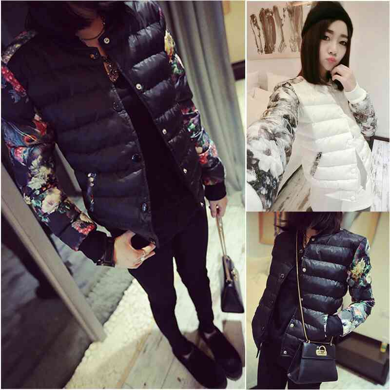 short paragraph cotton coat coat winter clothing women's clothing 2017 new winter wear