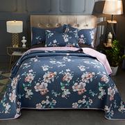 定做欧式床盖单件榻榻米纯棉韩国绗缝被大炕盖夹棉床单床盖三件套