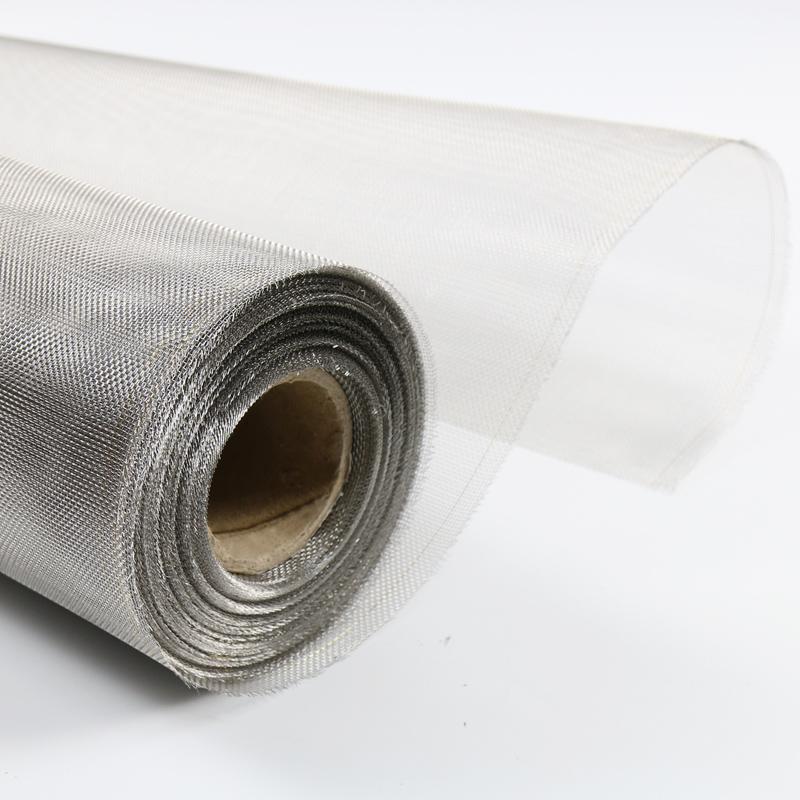 304不锈钢防蚊纱窗纱网防鼠隔蚊虫子沙窗帘推拉式隐形自装粘家用