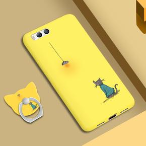 小米note3手机壳男女款个性创意潮牌n0te3软noto3磨砂全包防摔软