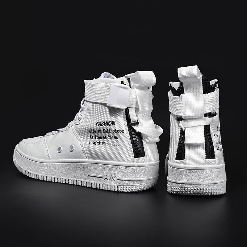 街舞白色街舞鞋