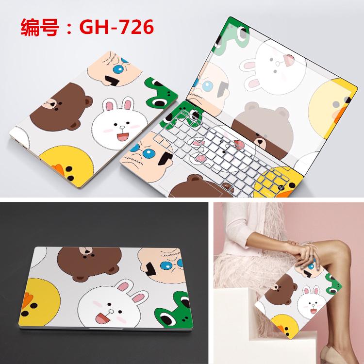电脑贴纸15.6寸惠普小米pro联想310S小新AIR13华硕戴尔笔记本贴膜