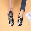 厚底豹纹平底鞋