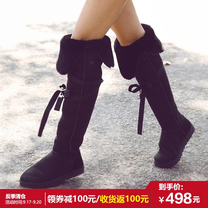 防水雪地靴高筒靴