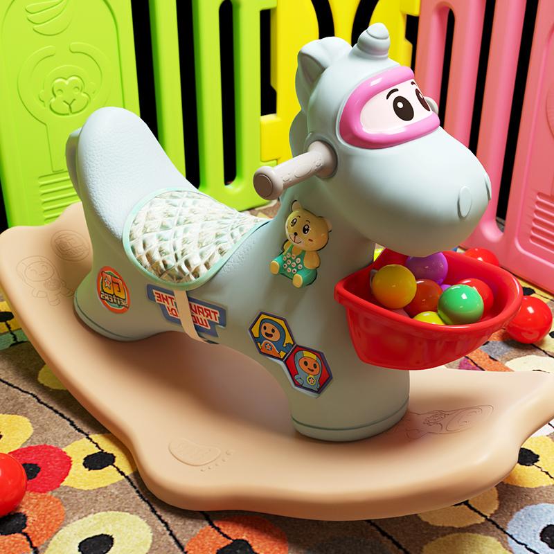 玩具_儿童摇摇马木玩具1元优惠券