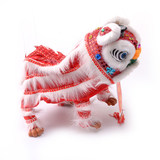 Chinese traditional gift line puppet pull line dance lion model kindergarten show parent-child puzzle to send foreigners