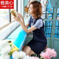 新款职业装女装套裙两件套夏季时尚正装短袖气质工作服连衣裙