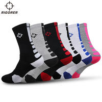 Pre-emptive sports towel bottom elite socks Autumn and winter thick stockings sweat-absorbent anti-skid deodorant basketball socks W-04