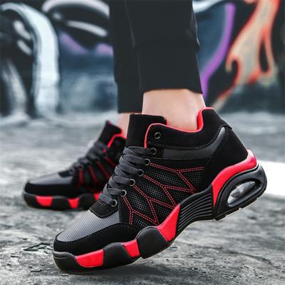 跑步加绒步鞋