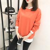 Pregnant women autumn new loose long-sleeved nursing clothes long-sleeved breastfeeding clothes out autumn Korean version of the sweater jacket hot mom