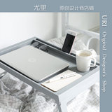 URI ins bed small table lazy table student bedroom bed desk foldable simple bedroom small table