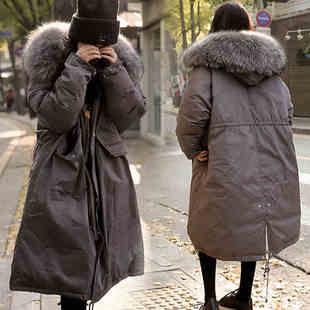孕妇装冬装棉衣外套加厚中长款韩版宽松棉袄冬季孕妇羽绒棉服女装