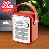 Loci P 50+ portable mini stereo radio old card speaker U disk MP3 music player