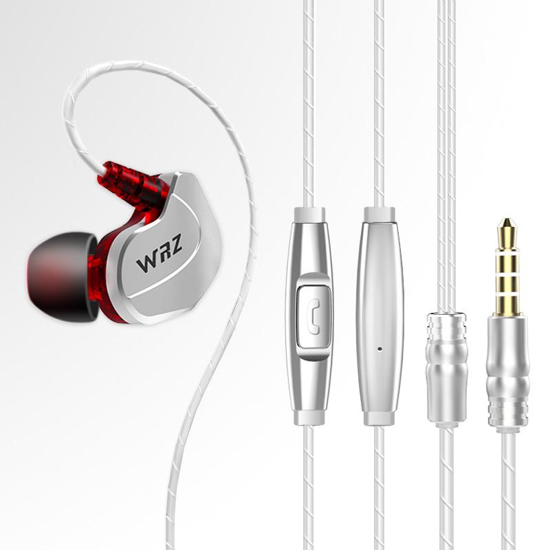 WRZ X6重低音手机苹果电脑通用男女耳塞挂耳式运动入耳式耳机耳麦优惠券