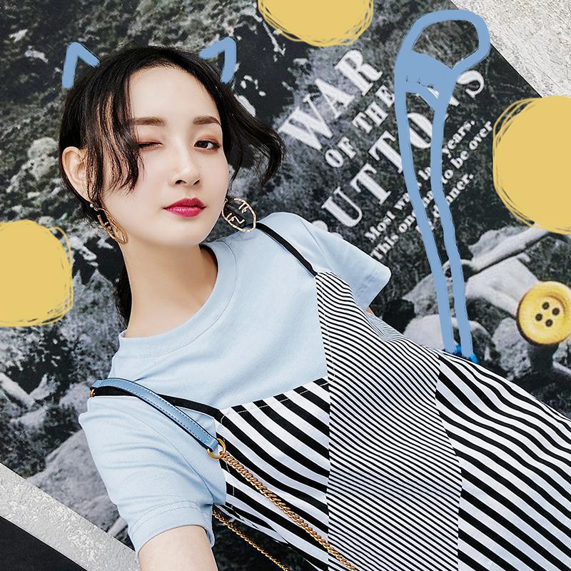 新款韩版连衣短裙子