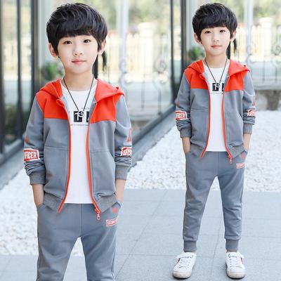 童装男童秋装帅气套装2018新款儿童春秋季男孩运动两件套韩版潮衣