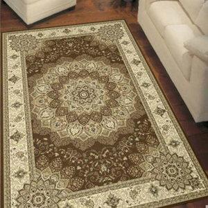 简欧中式复古土耳其进口卧室客厅地毯 宫廷钻石 100万针晴纶银丝