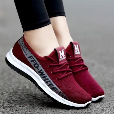 新款老北京布鞋女鞋平底中老年休闲妈妈鞋轻便透气防滑健步鞋单鞋