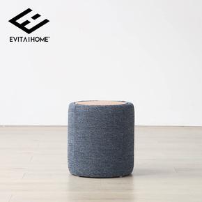 EVITA Home北欧换鞋凳进门穿鞋凳收纳储物凳小墩子沙发凳简约现代