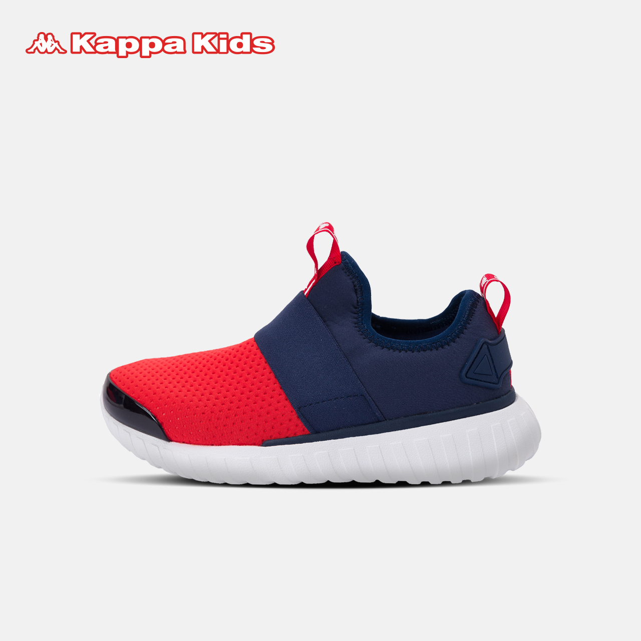 KappaKids童鞋儿童轻质运动鞋男女童中大童休闲鞋透气时尚跑鞋