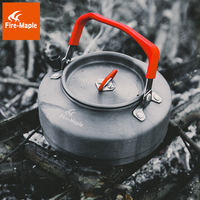 Fire Maple authentic T3 aluminum teapot outdoor camping picnic picnic kettle coffee pot kettle 0.8L
