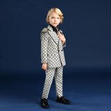 Inmyopinion 2019 new boy personality catwalk suit children's dress host photography photo shoot