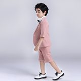 Inmyopinion 2019 new summer short children's suit boy catwalk show flower girl dress show