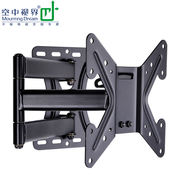 Aerial vision LCD TV rack wall mount bracket universal telescopic rotating shelf Le Shi Hisense millet wall