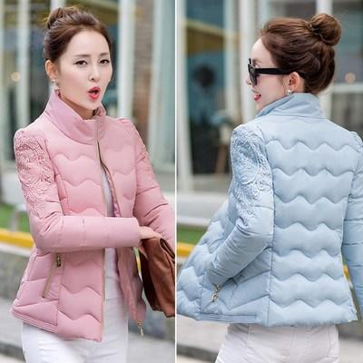 丝绵袄小袄子短袄女土短装棉服修身小款棉衣女款短款溥棉袄冬外套