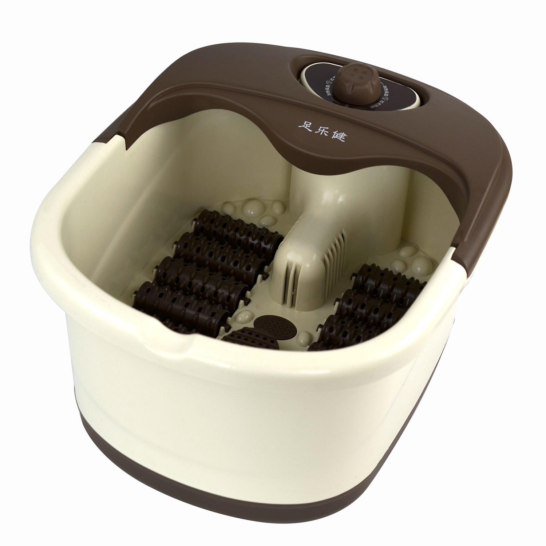 多轮足浴盆足乐健加热足疗机会销电动按摩洗脚盆礼品