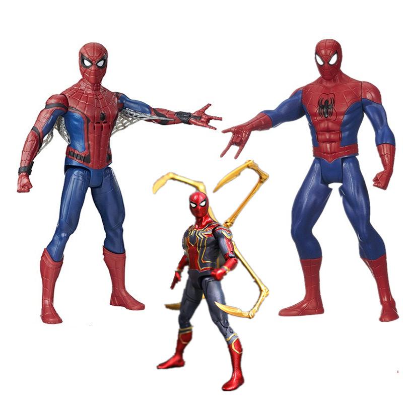 联盟4正版复仇者手办模型钢铁战衣蜘蛛侠