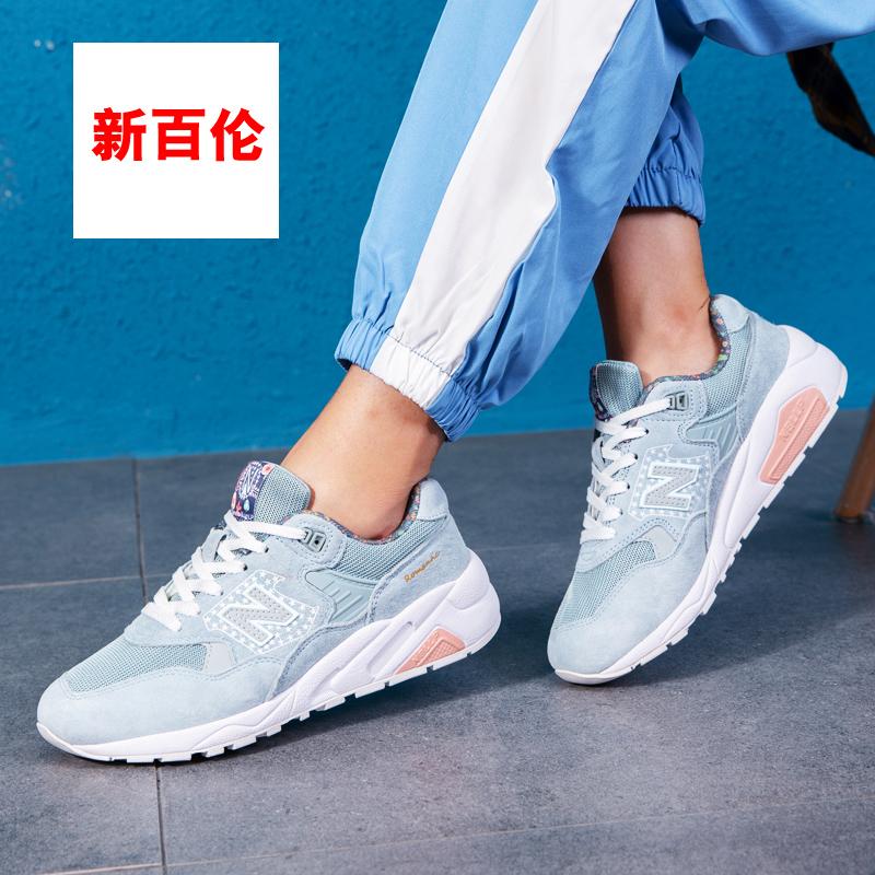 新百倫女鞋999櫻花系列580街拍運動鞋女2019新款秋季跑步鞋男鞋潮