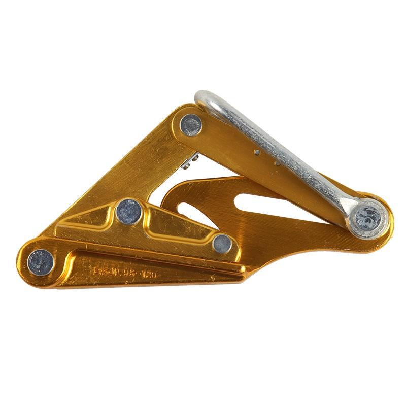 铝镁合金导线卡线器拉线器夹头绝缘电缆线夹线钳紧线器卡头