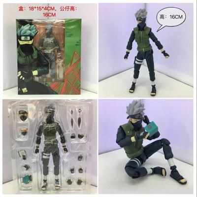 火影手办模型shf散货二次元动漫旗木西figma可动人偶玩具