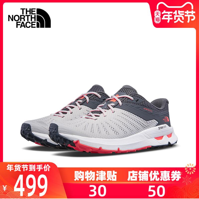 TheNorthFace北面新品戶外運動鞋登山徒步鞋緩震抓地跑步鞋女3ML7
