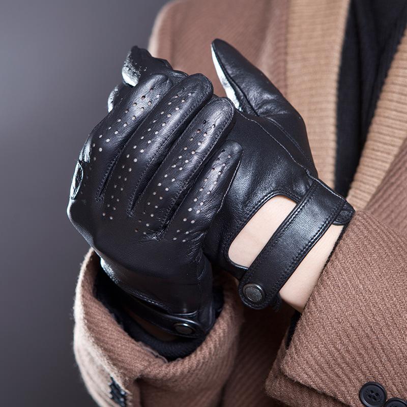 Мужские перчатки из овчины Артикул 593878852246