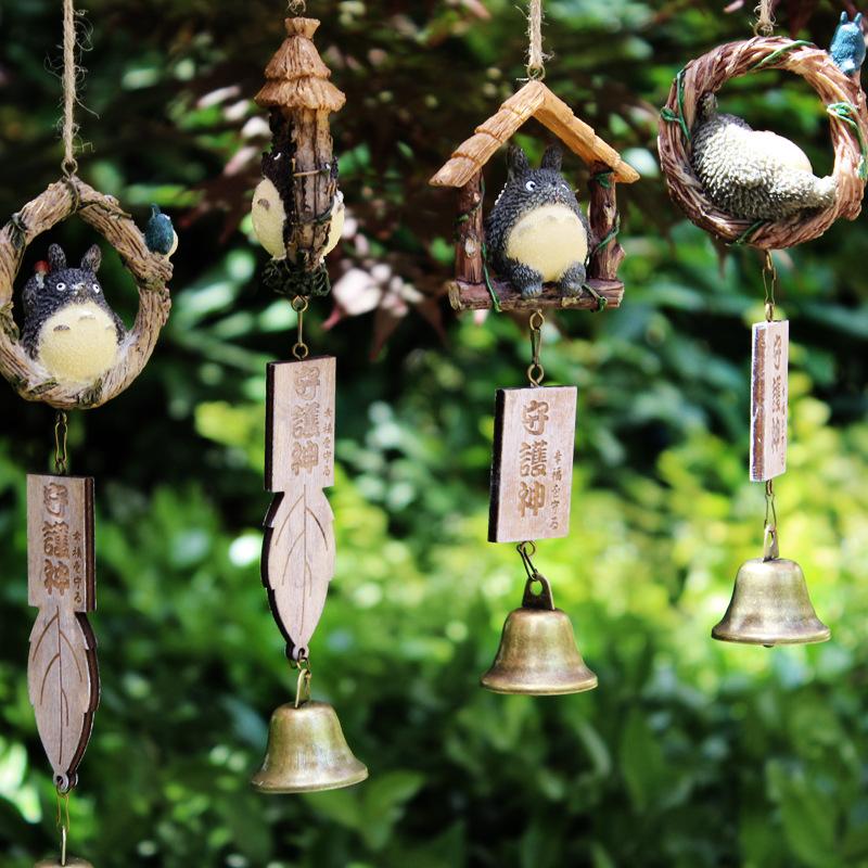 【送小礼品】龙猫风铃挂饰门饰女生家居装饰挂件情侣闺蜜生日礼物