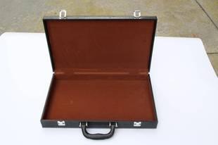PU皮文件箱證件收納箱筆記本電腦工具箱電子工具手提箱儀火熱暢銷
