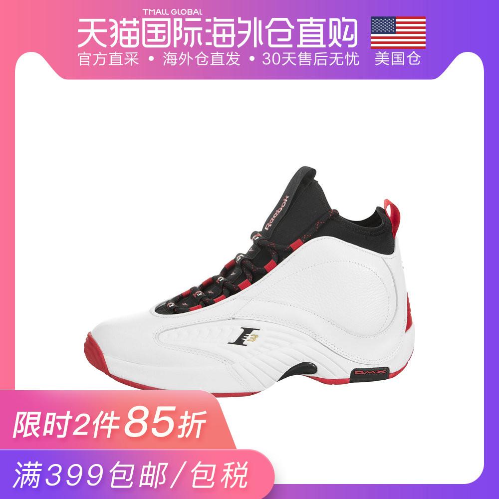 美国直发Reebok锐步Answer篮球鞋艾弗森4.5代签名战靴答案战靴
