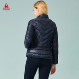 Lecak French cock Slim warm and windproof casual down jacket female CB-5851173