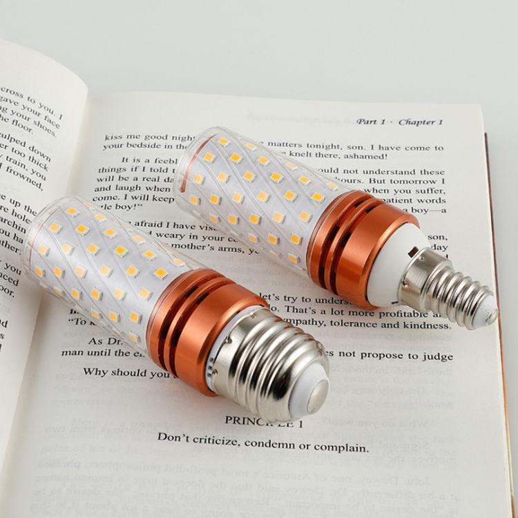 超亮led灯泡玉米节能灯e27e14螺口家用白光暖光三色变光蜡烛灯泡