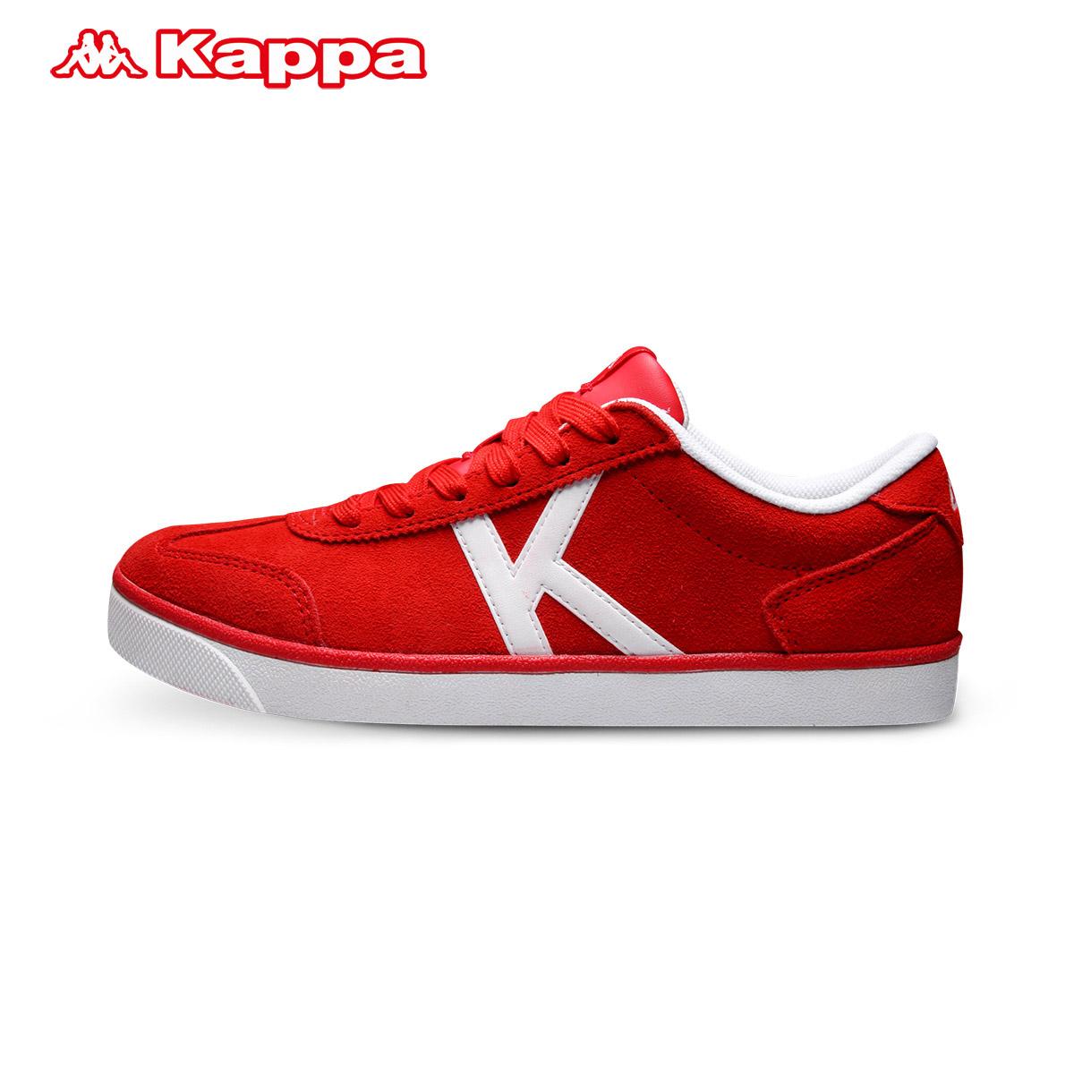 Kappa女子复古板鞋低帮女款翻毛休闲鞋 运动鞋|K0525CC01