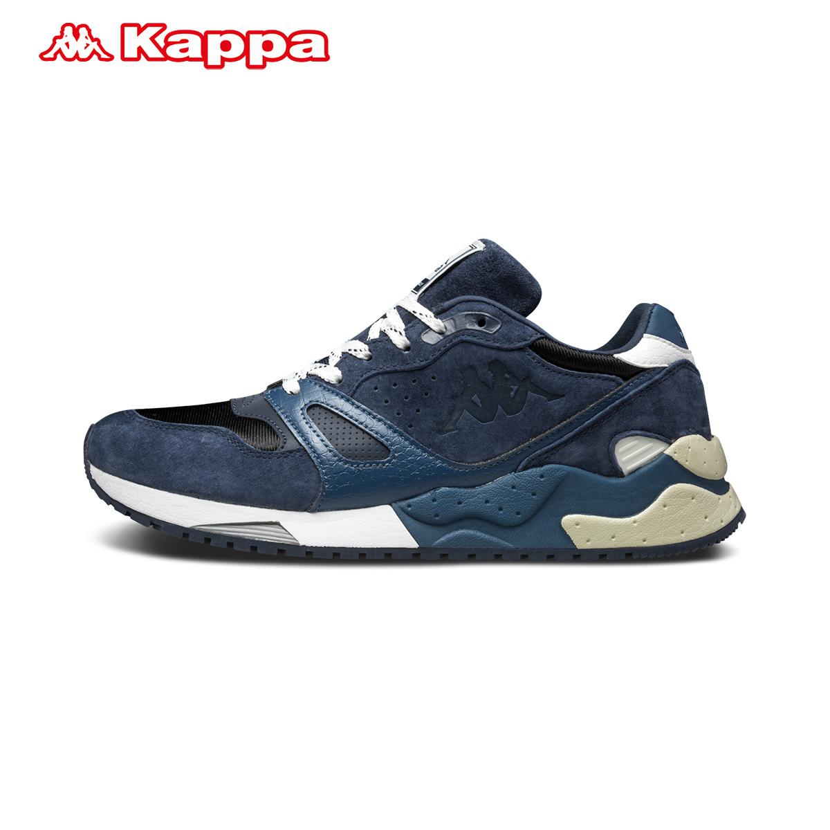 kappa卡帕情侶款男女運動復古跑步鞋 休閑運動鞋背靠背K0755MM75D