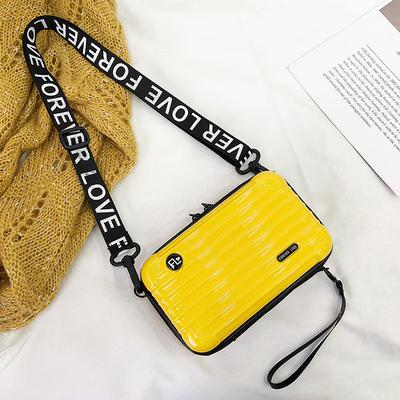 2019新款个性迷你行李旅行箱网红小包包质感斜挎硬壳小方包盒子包