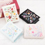 Japan imported Petit fleur fairy tale 2019 card package organ multi-card embroidered cute girl heart