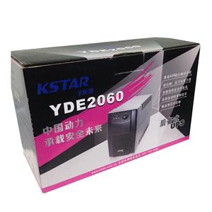 科士达UPS不间断电源YDE2060 600VA/360W电脑稳压后备式ups电源