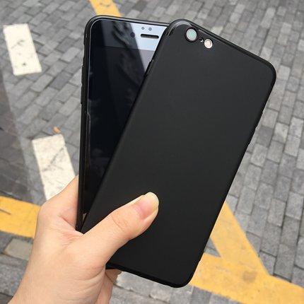 苹果6手机壳6splus软胶套iPhone7/8超薄6s磨砂黑软壳X全包女男 潮