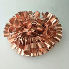 全铜接头 铜线鼻子马达线 充电夹子接头 汽车电瓶线接头 纯铜线尾