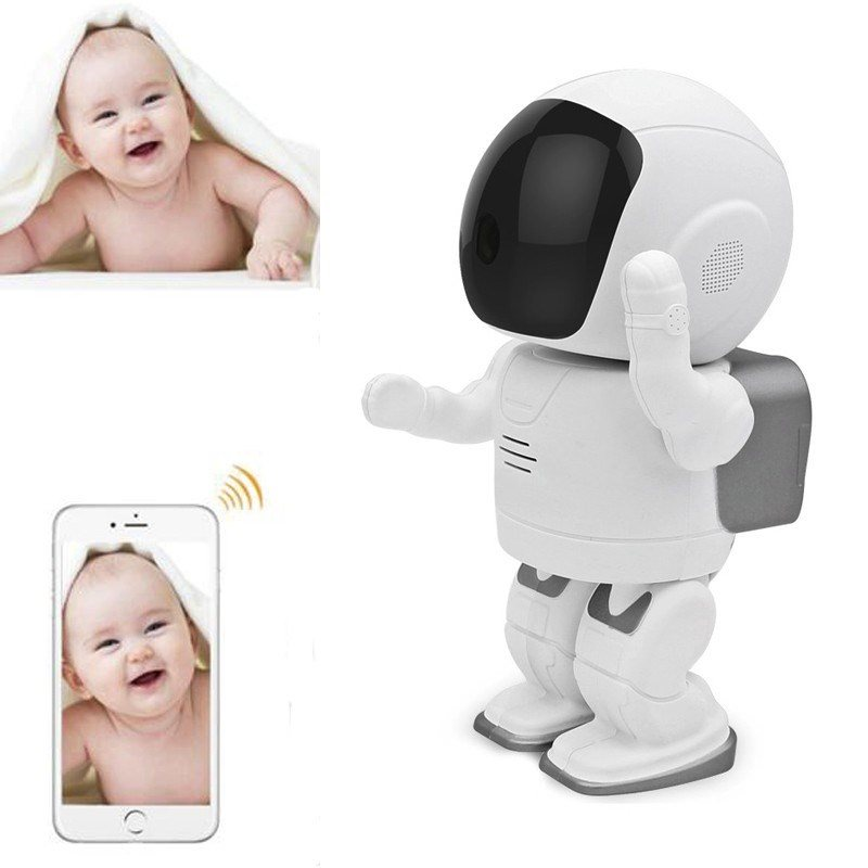 Robot Babyfoon M Camera Monitor Wifi Alarm IP Camera Motio