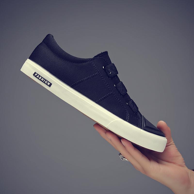 一脚蹬懒鞋韩版潮鞋